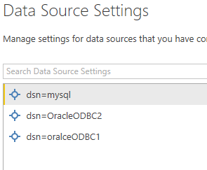 Oracle - change userid - Microsoft Power BI Community