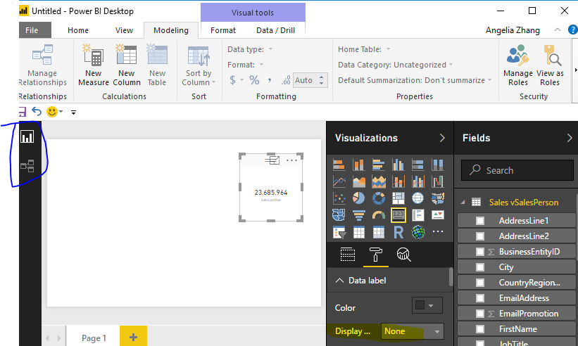 Solved: Number Formatting on Card Visualization - Microsoft Power BI