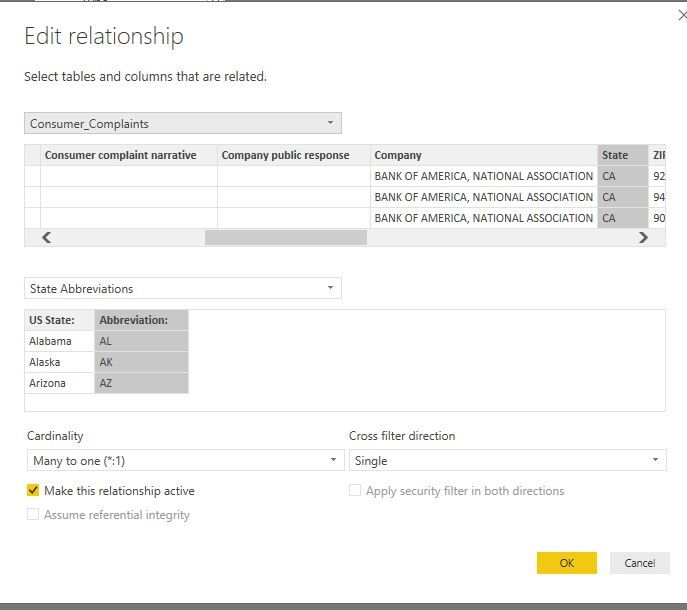 Solved Mapping of US States Microsoft Power BI Community