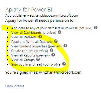 403 Forbidden error during Power BI dashboard Inte    - Microsoft