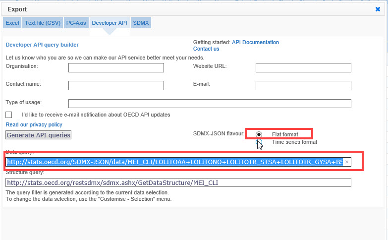 Solved: Get data using API link to OED data - Microsoft