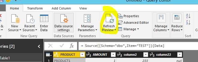 How to add a new column in the existing table - Microsoft Power BI