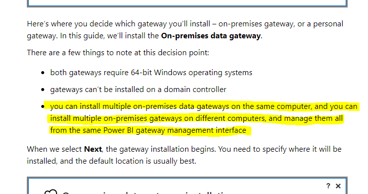 Solved: Multiple gateways on one machine: is it a thing or