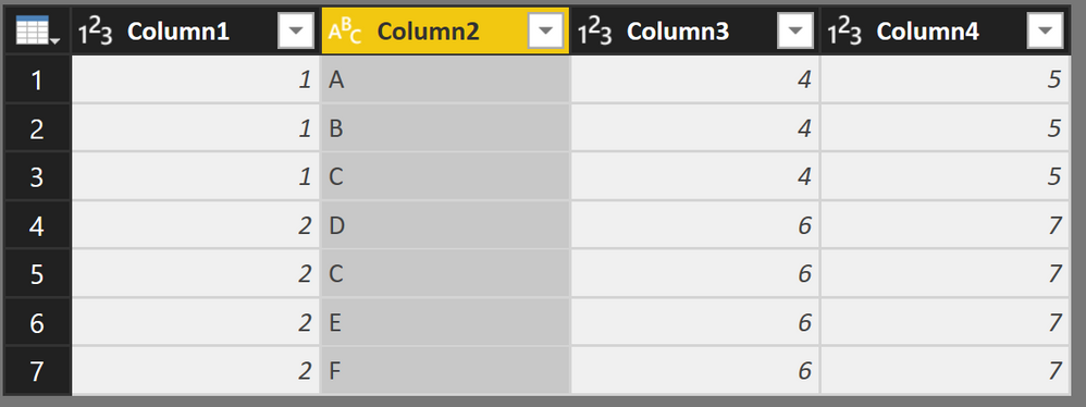 Solved: How to split the the Column into Multiple rows  - Microsoft