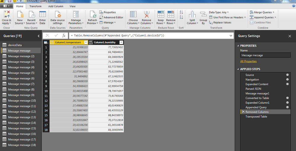 Solved: Converting JSON data into PowerBI table - Microsoft