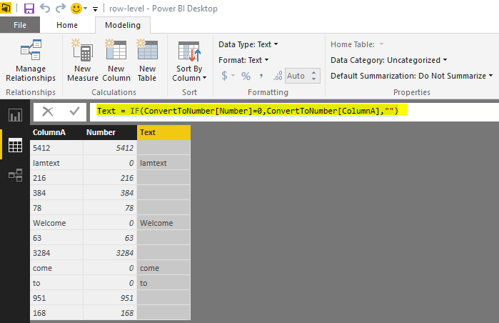 Solved: Test for a number - Microsoft Power BI Community
