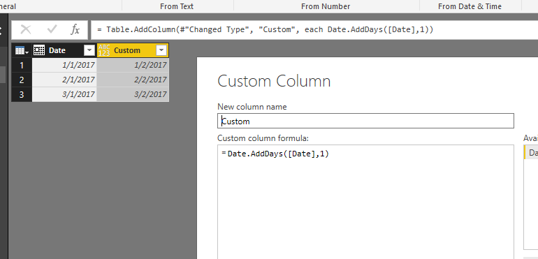 Solved: Add a number of days to a date in a new column - Microsoft