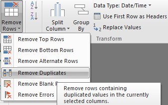 Solved: Remove duplicates based on values from multiple ce