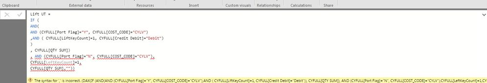 Solved: Nested IF with multiple Columns in a Logical Test
