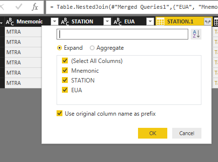 Output Data From Three Different Tables Microsoft Power Bi Community