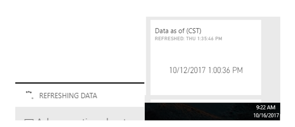 Dashboard Refresh Issue.PNG