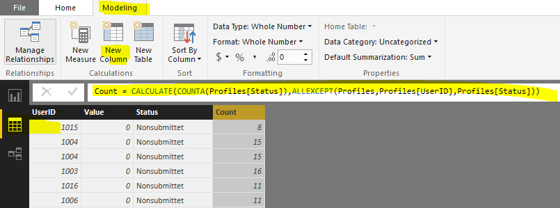 Solved: Count from related Table - Microsoft Power BI Community