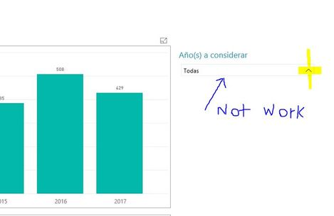 Problems with combobox in view full screen - Microsoft Power BI ...