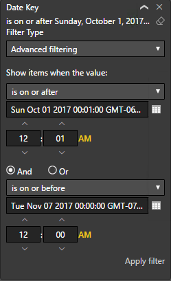 Solved: YTD and PYTD for Specified Time Frame - Microsoft