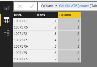 Count duplicate values and number them as 1,2,3..JPG
