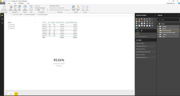 Solved: DAX - calculate average of averages - Microsoft Power BI
