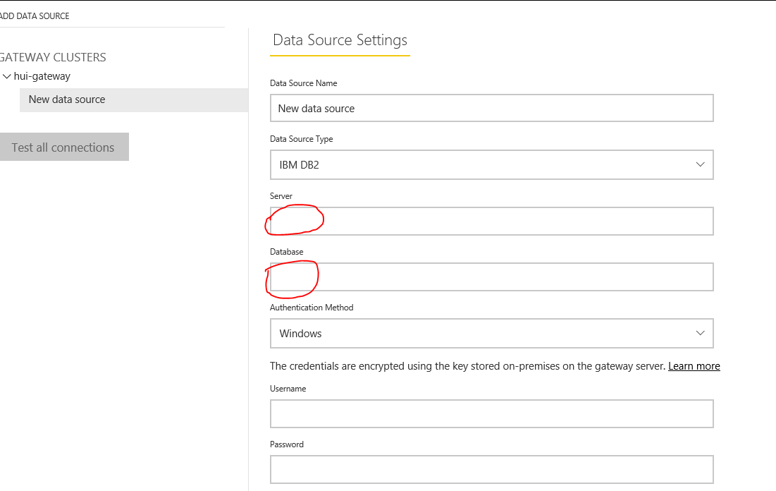 Solved: IBM DB2 through Power BI gateway - Microsoft Power
