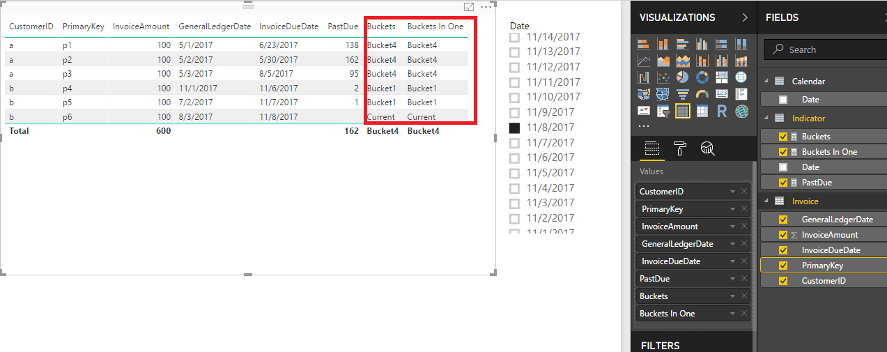 Solved: Dynamic Accounts Receivable Aging - Microsoft Power