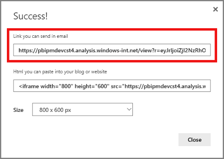 Solved: How to find your publish to web URL - Microsoft Power BI