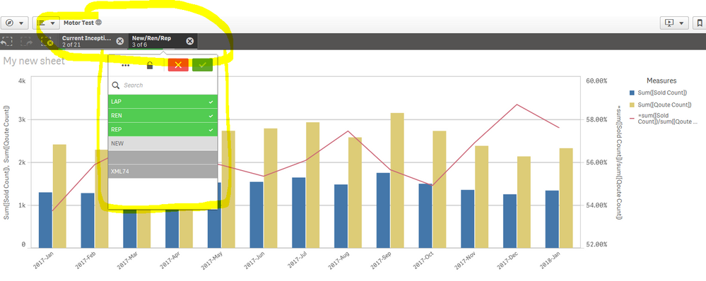 Solved: Cross filters and cross page indicators - Microsoft Power BI