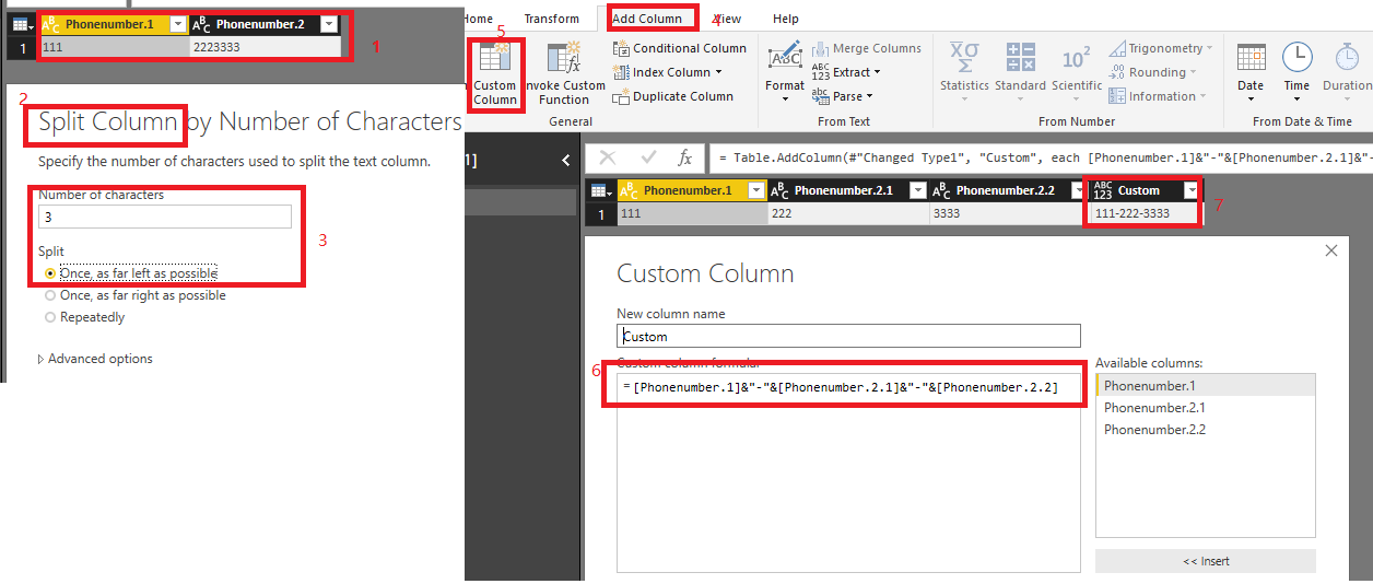Solved: How to format Phone Numbers? - Microsoft Power BI Community