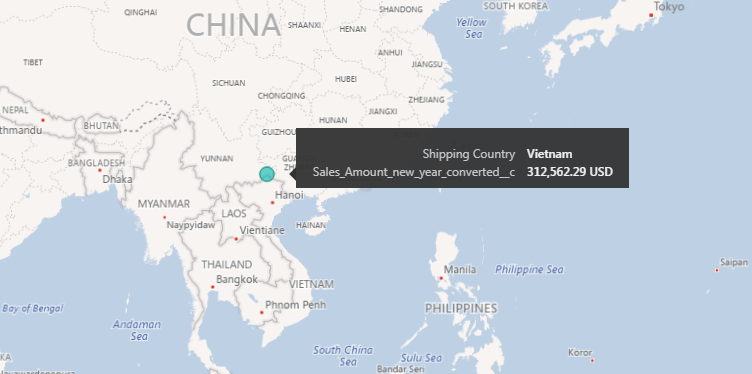 Solved: Bing Maps in powerBI shows wrong location of a cou ...