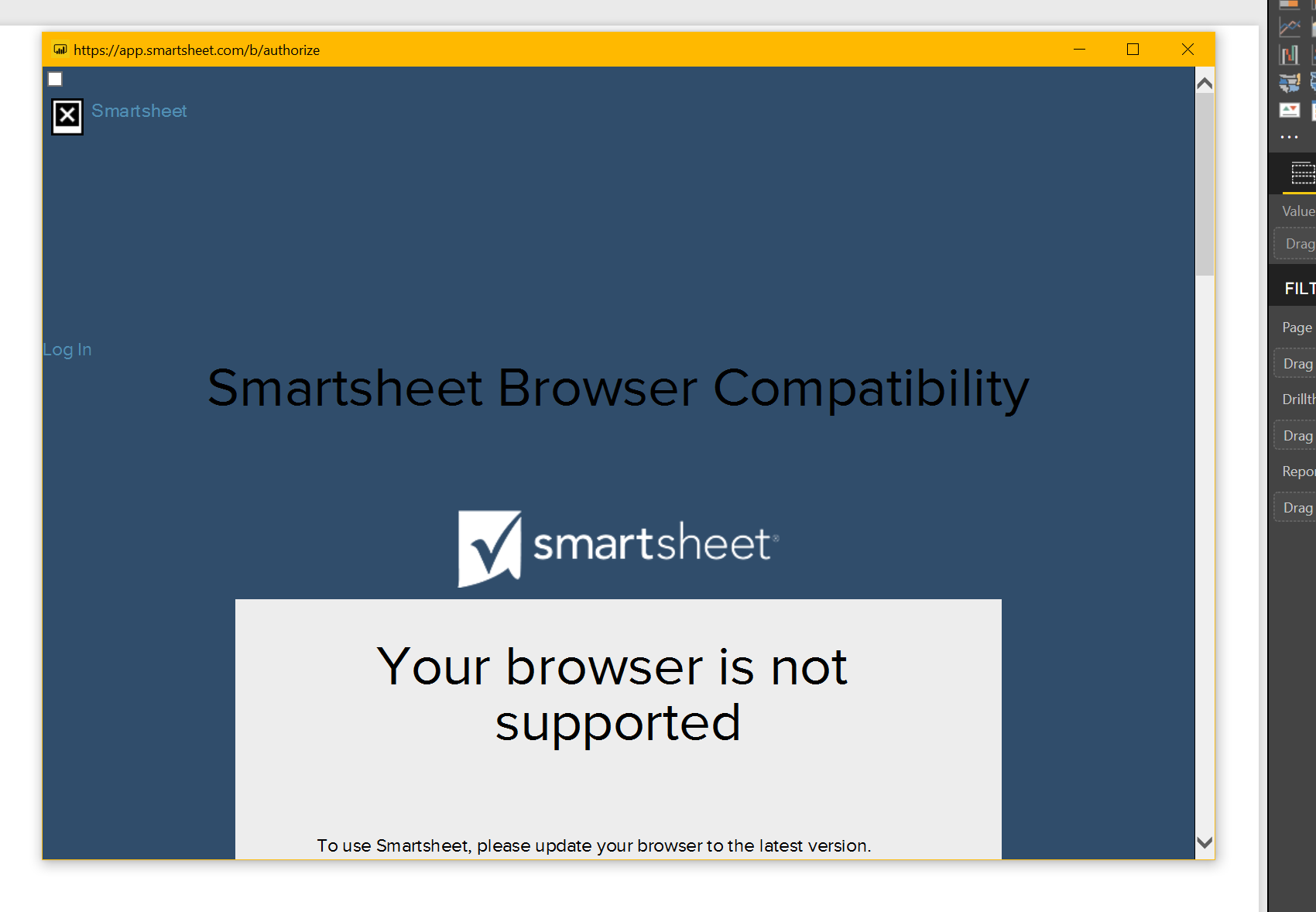 Solved: Issue with connecting Smartsheet and Power BI - Microsoft