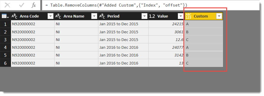 Solved: Assigning values to increments in a loop - Microsoft