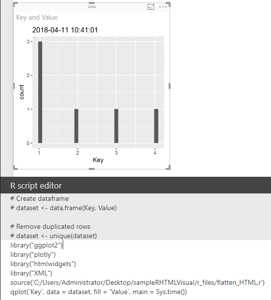 How to define dataset coming from power BI in R Cu... - Microsoft ...