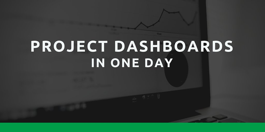 Project Dashboards in One Day using Power BI : July 29 : With Treb Gatte, Business Solutions MVP