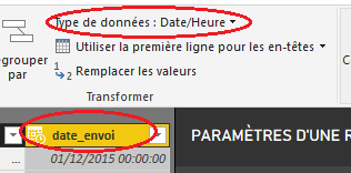 error when trying to filter a datetime column - Microsoft