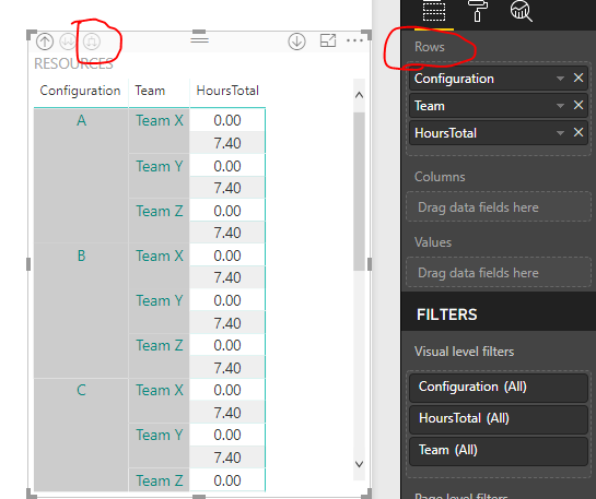 Solved: adding group heads in powerbi report - Microsoft Power BI